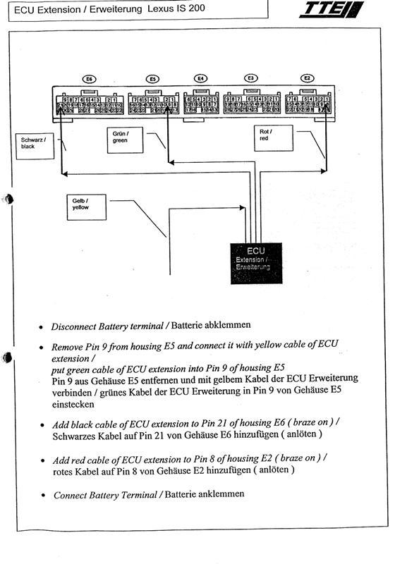 [SCHEMATICS_48DE]  Ecu Wiring Diagram Inside - Supercharging & Turbo Modifications - Lexus  Owners Club | Lexus Is 200 Wiring Diagram |  | Lexus Owners Club