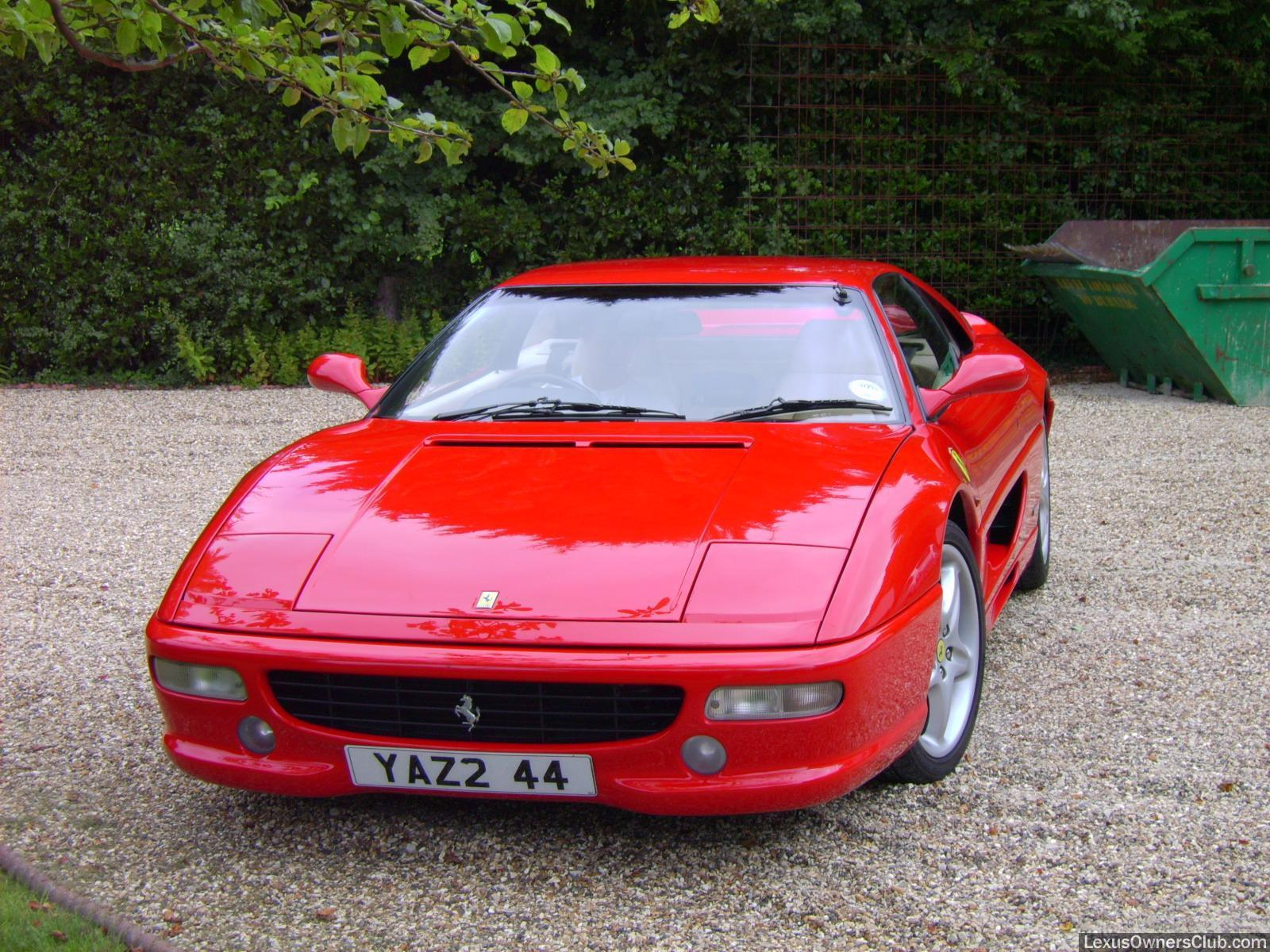 This is the front, in case you weren't aware. A F355 GTB