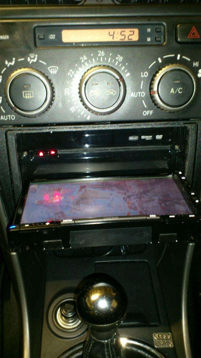 new aftermarket clarion head unit