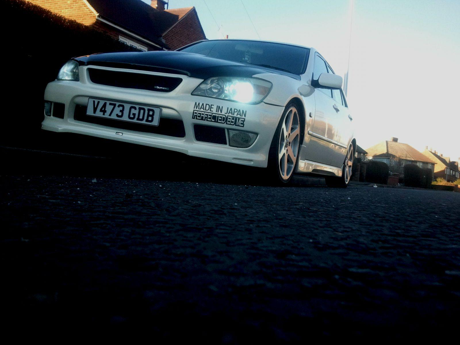 My IS with altezza body